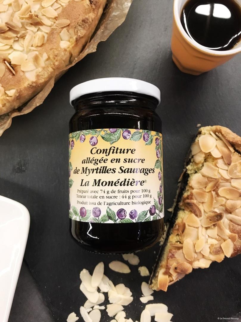 fenouil biocoop le mans cuisine bio tarte amandine confiture myrtilles