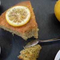 Gâteau au citron et aux graines de pavot (sans lait)