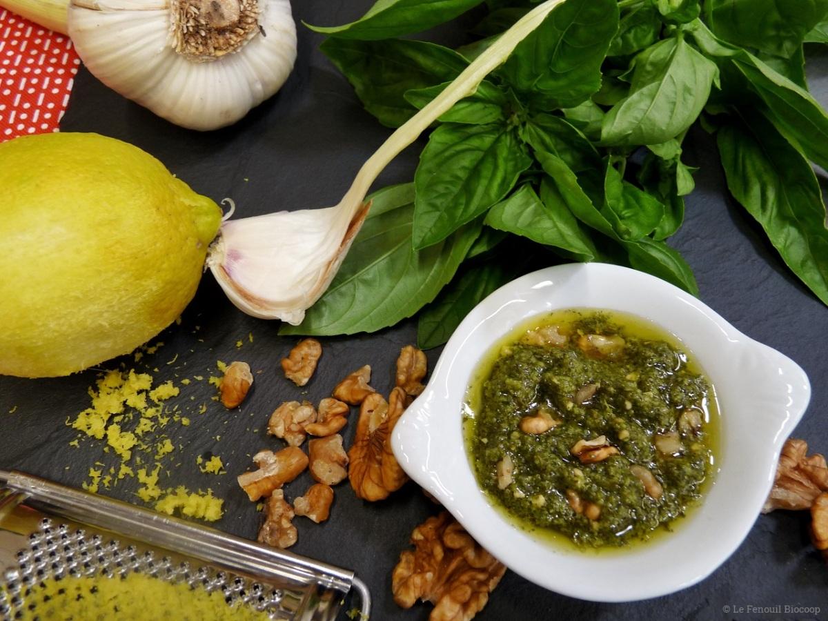 Pesto de basilic noix et citron cuisine moi un fenouil - Noix de muscade cuisine ...