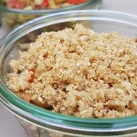 Crumble de légumes d'été au parmesan (sans gluten)