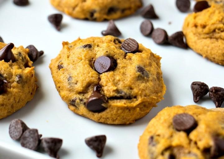 Cookies au potimarron et aux pépites de chocolat (sansgluten)