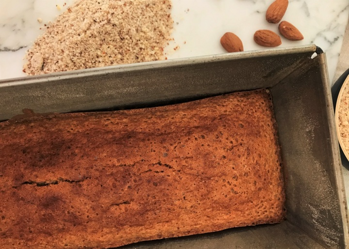 Gâteau nantais : moelleux aux amandes, au rhum et à la vanille (sansgluten)